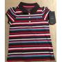 Camiseta Polo Femenina Para Criança Da Tommy