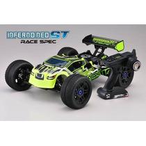 Inferno Neo St Automodelo Nitro Truggy 4x4 2.4ghz Motor Ke25