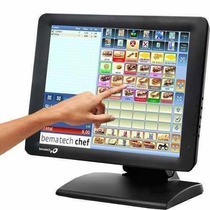Monitor Touch Screen Bematech Lcd 15 Tout Tm15 Tela De Toque