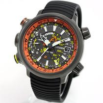 Relógio Citizen Masculino Bn4026-09f Altichron Titanium