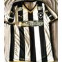 Camisa Botafogo Rj Usada Em Jogo Brasileiro 2015