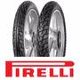 Pneu Moto Pirelli Kit Par (2.75-18 E 90/90-18 Courier)