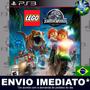 produto Lego Jurassic World Ps3 Cód Psn Português Promoção