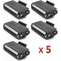 Kit 5 Toner Brother Tn580 Tn620 Tn650 Compatível Dcp8065