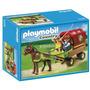 5228 Playmobil Country Vagao Puxado Por Poneis