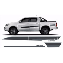 Jg De Faixas Decorativas Hilux Limited Edition 2015