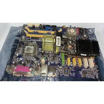 Kit Foxconn Placa Mãe + Pentium 4 + Gforce 512mb Ddr2