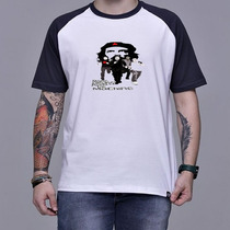 Camiseta Raglan Rage Against The Machine