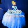 1 Display Busto Cinderela Para Decoração Em Mesa Aniversário