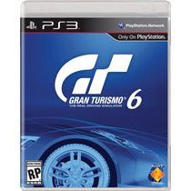 Jogo Ps3 Gran Turismo 6 - Playstation 3 - Dlc Exclusiva