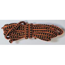 Cadarço P/ Mizuno Prophecy (preto/laranja)