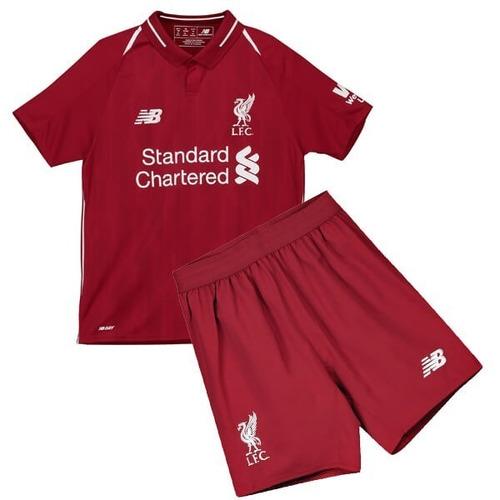 887b21cce Conjunto Infantil Do Liverpool 2018 Oficial - Personalizado