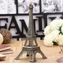 Torre Eiffel Em Miniatura Feito Em Metal 18 Cm - Luxo