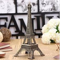 Torre Eiffel Em Miniatura Feito Em Metal 26 Cm - Luxo