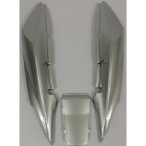 Carenagem Traseira. Cbx 250 Twister Prata 2005 Modelo 2008