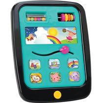 Tablet Interativo Infantil Babypad Azul Original Elka