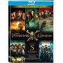 Piratas Do Caribe Box Blu-ray Com 5 Filmes Pérola A Salazar