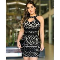 c1623147d Vestido Feminino Curto Festa Direto Fabrica Em Renda à venda em ...
