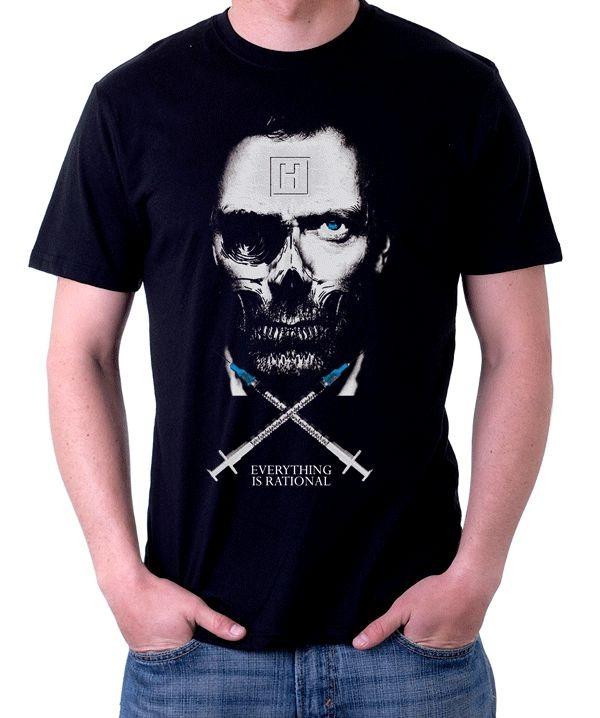 Camiseta Everything is rational Seriado House