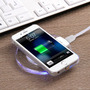 Carregador Sem Fio Charger Wirelless +receptor Qi Ios Iphone