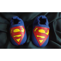 Tênis Sapatinho Bebê Menino Super Man 6 A 9 Meses Importado
