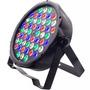 Canhão Luz Refletor Iluminação 54 Led 3w Rgbw Festa Balada