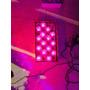 2x Cordão Natalino Natal 30 Flores Led Pink Pisca Pisca 4,5m