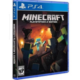 Jogo Minecraft Ps4 Playstation 4 Mídia Fisica Lacrado