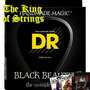 Encordoamento Baixo De 4 Cordas Dr Black Beauties .40
