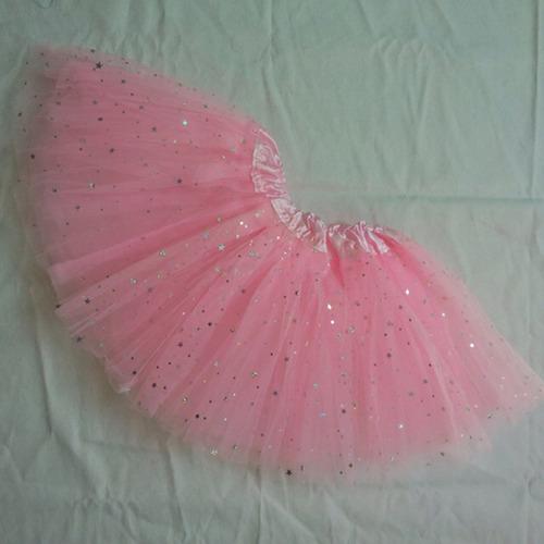8e27a48895 Saia Tutu Infantil Brilho Ballet Carnaval Bailarina 2-6 Anos à venda ...