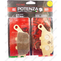 Pastilha Traseiro Potenza Metalica 174 Honda Cb 300r Com Abs