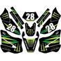 Kit Adesivos Gráfico Moto Trilha Xtz 125 E 250 Lander