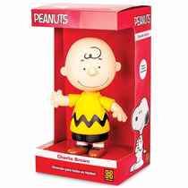 Boneco Grow Peanuts Personagem Charlie Brown Do Snoopy 22 Cm