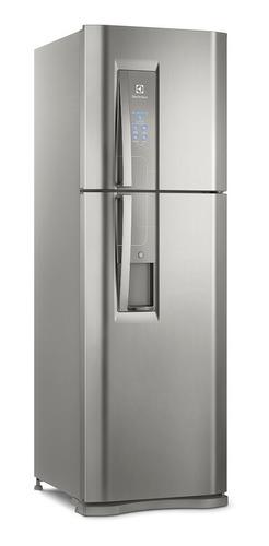 Geladeira Auto Defrost Electrolux Dw44 Platinum Com Freezer 400l 220v