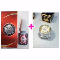 Alongamento Cílios Fio A Fio Cola + Removedor Cilios Tufinho