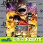 One Piece Pirate Warriors 3 Ps3 Midia Digital Envio Já!