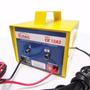 Carregador Bateria 12v 3a Até 36a/h Lento Carro Moto Jetsky