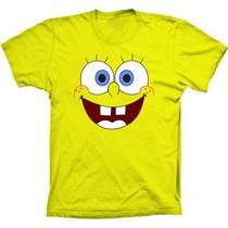 Camisetas Bob Esponja Sorrindo