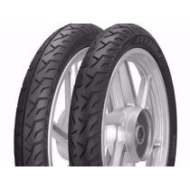 Pneu Pirelli Cg/titan/ybr Dianteiro+traseiro 90-18+275-18