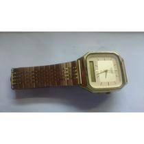 Antigo Relógio Casio Aq-322g, Anos 80