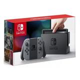 Console Nintendo Switch 32gb Cinza Gray - Novo - Original
