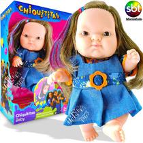 Boneca Bia Chiquititas Baby Cotiplás