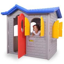 Casa Infantil Tropical Plus Cinza - Xalingo