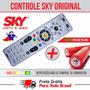 Controle Remoto Sky Hdtv Hd Original + 2 Pilhas Frete Gratis