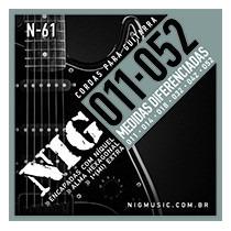 Encordoamento Nig Para Guitarra - 011 - Cordas - N61