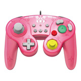 Controle Joystick Hori Battle Pad Princess Peach