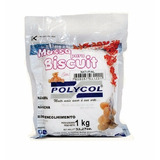 Caixa Massa De Biscuit Polycol 11 Kg Natural