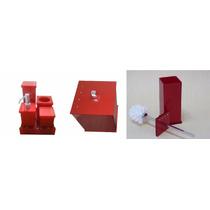 Kit Potes P/ Banheiro Acrílico Cereja_personalizado