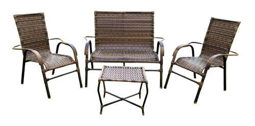 Jogo Cadeira Fibra Sintetica,area Jardim Varanda Piscina