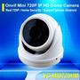 Camera Ip Full Hd Infra Dome Ircut 30mts 1.0 Megapixel Onvif